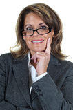 Confident Mature Business Woman Stock Photos