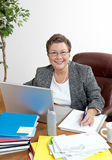 Confident Mature Businesswoman Stock Photos