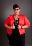 Confident Mature Plus Size Buisiness Women Stock Photos