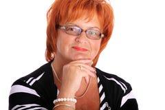 Confident mature woman Stock Photo