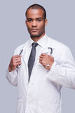 Confident medical expert. Royalty Free Stock Photography