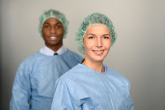 Confident Medical Professionals in hospital Stock Photos