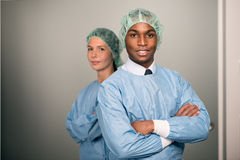 Confident Medical Professionals in hospital Royalty Free Stock Photo
