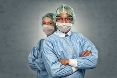 Confident Medical Professionals in hospital Stock Photo