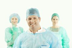 Confident medical team Royalty Free Stock Photos