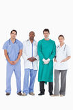 Confident medical team standing together Royalty Free Stock Images