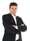 Confident middle-aged man Stock Photo