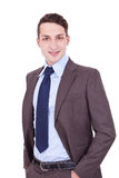 Confident modern business man Stock Photo