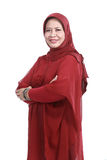Confident Muslim woman Stock Photography