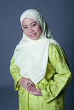 Confident Muslim woman in traditionalclothing Royalty Free Stock Photos