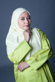 Confident Muslim woman in traditionalclothing Stock Image