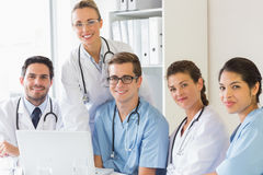 Confident nurses and doctors Royalty Free Stock Photography