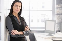 Confident office worker woman Stock Photography