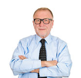 Confident old man Royalty Free Stock Photography