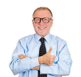 Confident old man Stock Images