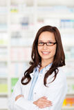 Confident pharmacist Stock Image