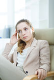 Confident professional office worker Stock Photography