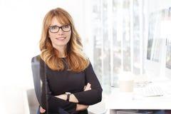 Confident professional woman stock photos
