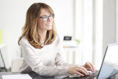 Confident professional woman Stock Images