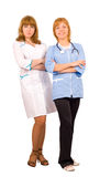 Confident professionals medical team Royalty Free Stock Image