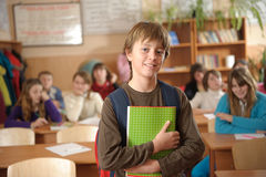 Confident pupil Royalty Free Stock Images