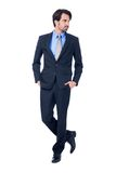 Confident relaxed business executive Royalty Free Stock Image