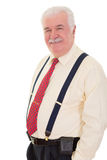 Confident relaxed senior man Royalty Free Stock Photography