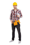 Confident repairman. Stock Photography