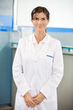 Confident Researcher In Laboratory Royalty Free Stock Photo