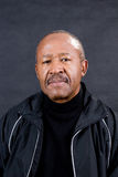 Confident retired man. Confident african american man retirement age Royalty Free Stock Photos