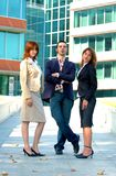 Confident Sales Team Stock Photography