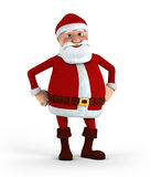 Confident Santa Royalty Free Stock Photos