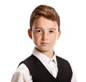 Confident schoolboy portrait Royalty Free Stock Photography