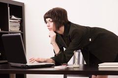 Confident secretary in a office Stock Photo