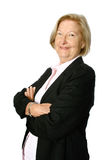 Confident senior businesswoman Stock Images