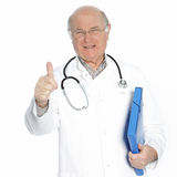 Confident senior doctor or consultant Stock Photos