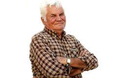 Confident Senior Man Royalty Free Stock Photo