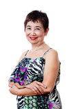Confident Senior Woman Royalty Free Stock Images