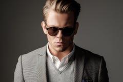 Confident sharp dressed man Stock Photo