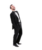 Confident Smart  Looking Man Laughing Stock Photos