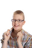Confident smiling boy Stock Photography