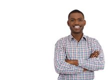 Confident smiling male student Royalty Free Stock Image
