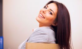 Confident smiling woman Royalty Free Stock Image