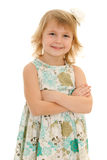 Confident smiling young girl Royalty Free Stock Image