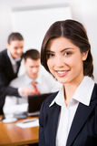 Confident specialist Stock Image