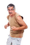 Confident sporty senior man Royalty Free Stock Photo