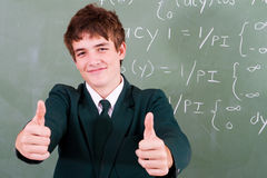 Confident student stock images