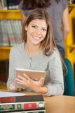 Confident Student With Digital Tablet In Royalty Free Stock Photo