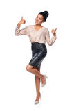 Confident successful business woman Royalty Free Stock Image