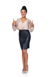 Confident successful business woman Royalty Free Stock Images